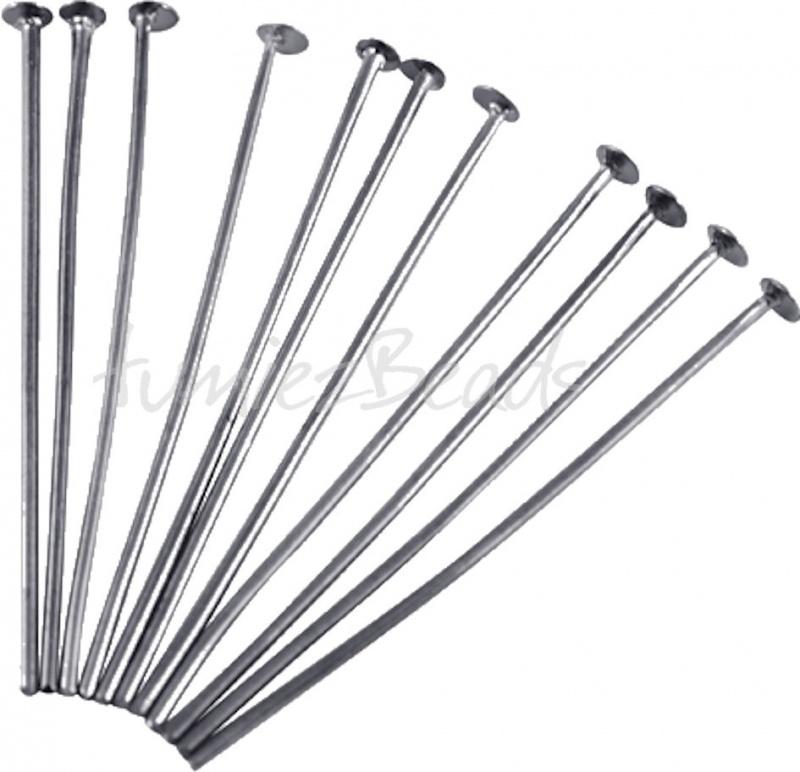 02263 Nietstift Zwartkleurig (Nikkelvrij) 50mmx0,7mm ±75 stuks
