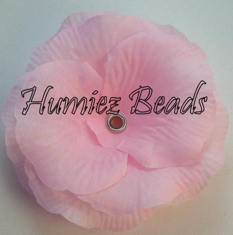 Bloem roze 75mm