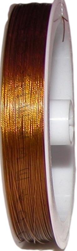 S-1020 Staaldraad Goud 0,38mm 100 meter