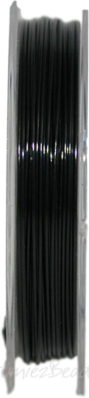 S-0005 Staaldraad 10meter 0,45mm zwart