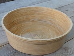 Voetenbad, Ø 40 cm, bamboe, naturel