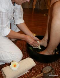 Voetenbad ritueel