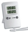 Dubbele digitale thermometer.