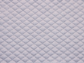Vyva Fabrics - Matrastijk 1014 Grey Small Diamond