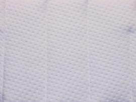 Vyva Fabrics - Matrastijk 1012 Wit Gestept