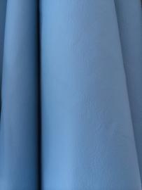 Lederen huid lichtblauw