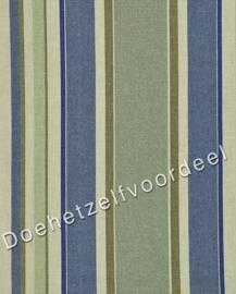 Kobe - Cranstone Stripe - 13 Wit Blauw Beige