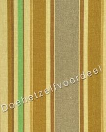 Kobe - Cranstone Stripe - 12 Bruin Groen Beige