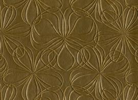 Vyva Fabrics - Agua - Mystique Fleur Gold