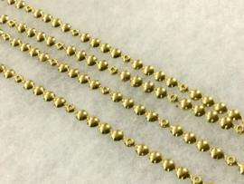 Siernagelstrip Messing - goud glimmend