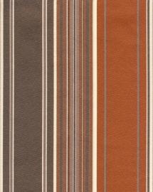 Vyva Fabrics - Agua - Aura Multistripe Copper