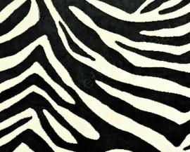 Kobe - Zebra -  1 Zwart Wit