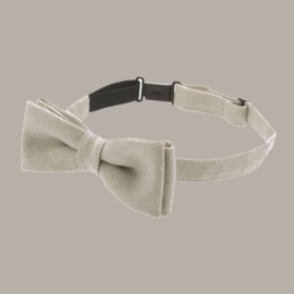 Bow-Tie 'Knut Jr.' - Mono Kakhi - vlinderstrik beige - one size - CTH Mini