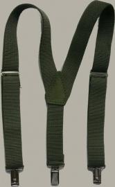 Bretels - leger groen - maat baby/kleuter - EL