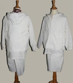 No-No 3-delige set (broek/overhemd/bodywarmer) - maat 140/146 - NN03