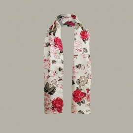 Shawl 'Chembi' Flower - VR