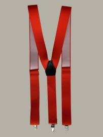 Bretels - oranje - maat 134 t/m volwassen maat - EL
