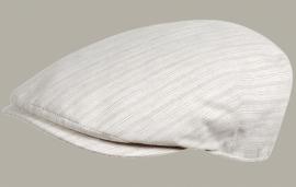 Pet `Maarten` - flat-cap - grijs gestreept - maat 60 - FI