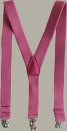 Bretels - roze - maat baby/kleuter - DF