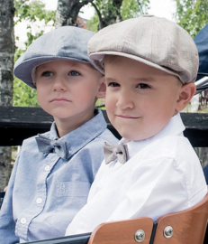 CTH Mini petten & bow-ties