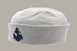 Sailor cap 'Alfred Jr.' Cadet Stripes Blue - maat 52/54 - CTH Mini