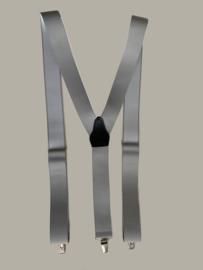 Bretels - lichtgrijs - maat 134 t/m volwassen maat - DF