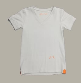 Jan van Trier shirt zand - maat 104 - JT19
