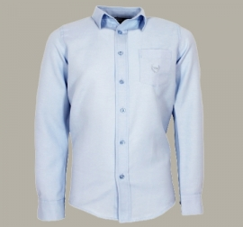 Vinrose overhemd 'Justin' lichtblauw - maat 134/140 - VR78
