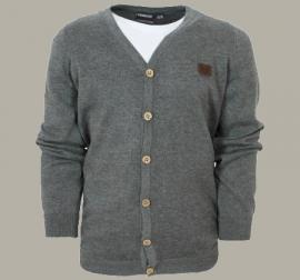 Vinrose vest 'Carter' - Grey Melange - maat 146/152 - VR85