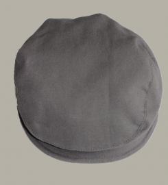 Pet 'Jonas' - grijs newborn baby flat-cap - maat 40-42 - ClassyBoy