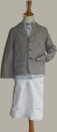 Gymp 3-delige set: colbert/capri broek/overhemd - maat 140 - MPx