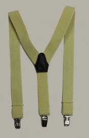 Bretels - geel - maat kind - 85 cm.