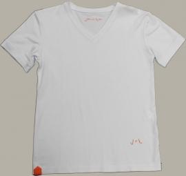 Jan van Trier shirt wit - maat 116 - JT19