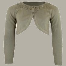 Vinrose vest 'Brodie' - Coriander - 98/104