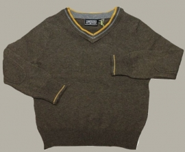 Vinrose trui `Johnny` bruin - maat 146 - VR30