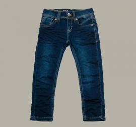 Vinrose broek / jeans 'Jeffrey' Dark Denim - maat 80 - VR62