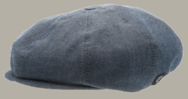 Pet `Lorentz` Morgado/Liberty Blue - newsboy cap - blauw - maat 46/48/50/52/54/56 - CTH Mini
