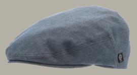 Pet 'Edward' Morgado/Liberty Blue - flat cap - blauw - maat 60/61 - CTH Ericson