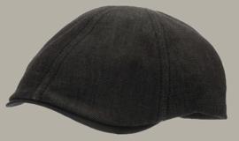 Pet `Henning` Denim Black - duckbill cap zwart - maat 60 - CTH Ericson