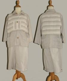 Bere-Brett broek en hes & Monny overhemd -  maat 110/116 (valt ruim) - Y548