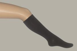 Bonnie Doon kniekous effen donkerbruin - maat 19 t/m 38 - BD03