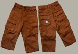 Pom-Pom driekwart broek `Jasper` - bruin - maat 122/128 - PM125-126