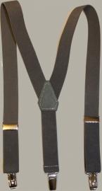 Bretels - donkergrijs / antraciet grijs - maat baby/kleuter - EL