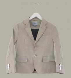 Little Linens 'Sand' linnen blazer - maat 110/116 - LL43
