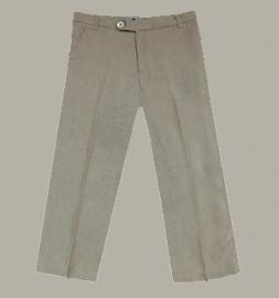 Little Linens 'Sand' linnen pantalon - maat 110/116 - LL44