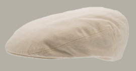 Pet `Philip` Cotolino Beige - flat cap  - maat 58/60 - CTH Ericson