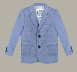 Vinrose colbert / blazer 'Dave' - 'Light Blue' lichtblauw - maat 146 - VR94