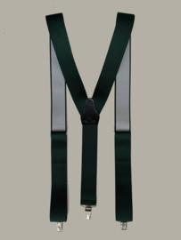 Bretels - groen - maat 134 t/m volwassen maat - EL