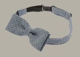 Bow-Tie 'Knut Jr.' Linen Check - vlinderstrik - CTH Mini
