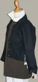 Anna Luca jasje `Jesse` - donkerblauw linnen - maat 146/152 - AL